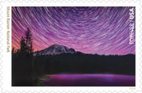 Mount Rainier Forever stamp