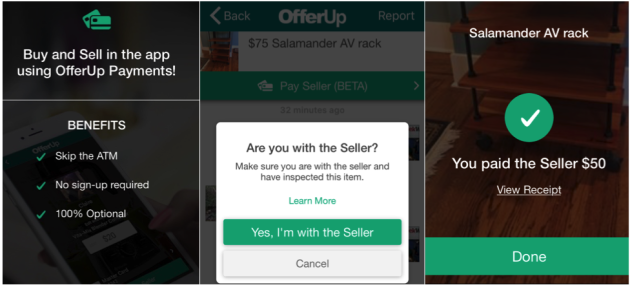 Craigslist rival OfferUp tests mobile payments in Seattle, letting