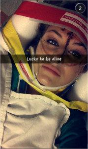 Snapchat crash