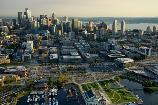 (Photo by Puget Sound Aerial Imaging for GeekWire)