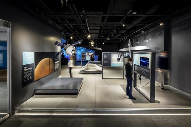 Experience Center exhibits