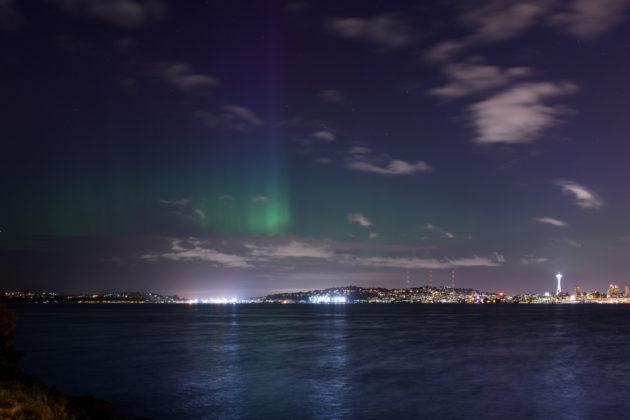 Tim Durkan northern lights aurora picture
