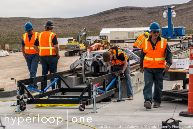 Hyperloop One POAT