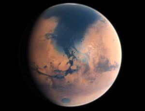 Mars northern ocean