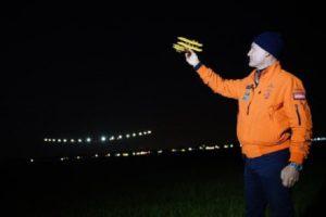 Solar Impulse 2 landing