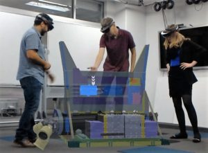 HoloLens for rover design