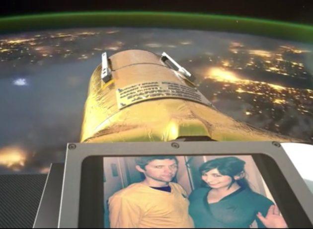 Space selfie