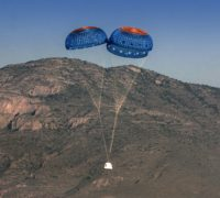 Blue Origin parachutes