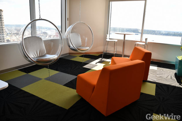 Inside Groupons New Seattle Office Waterfront Views Lots Of
