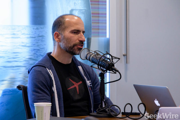 Khosrowshahi talks competition on GeekWire Radio.