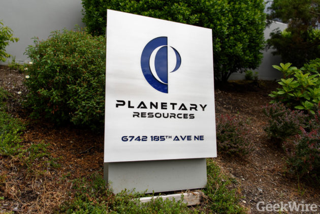 Planetary Resources sign
