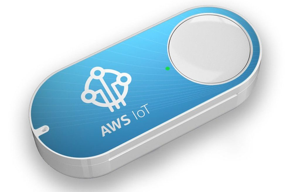 Amazon introduces $20 Dash-like button for the Internet of Things, sells out in a day - GeekWire