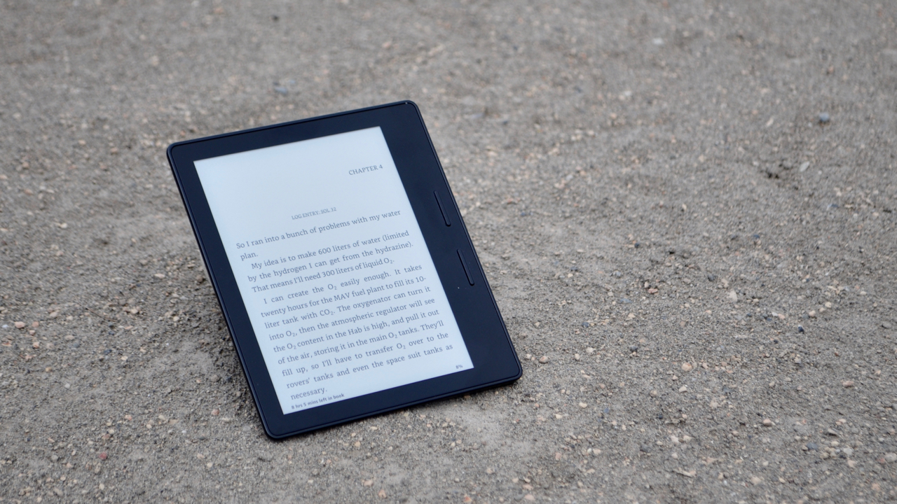 Review: Amazon's Kindle Oasis may be the best e-reader ever