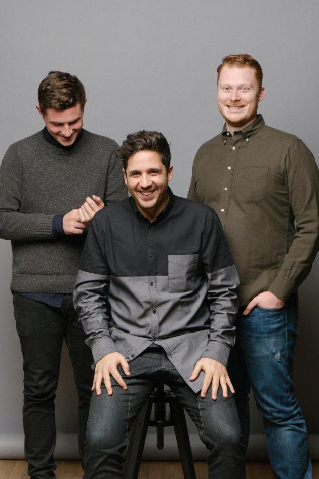 Bench co-founders Adam Saint, Jordan Menashy, Ian Crosby. Photo via Bench.