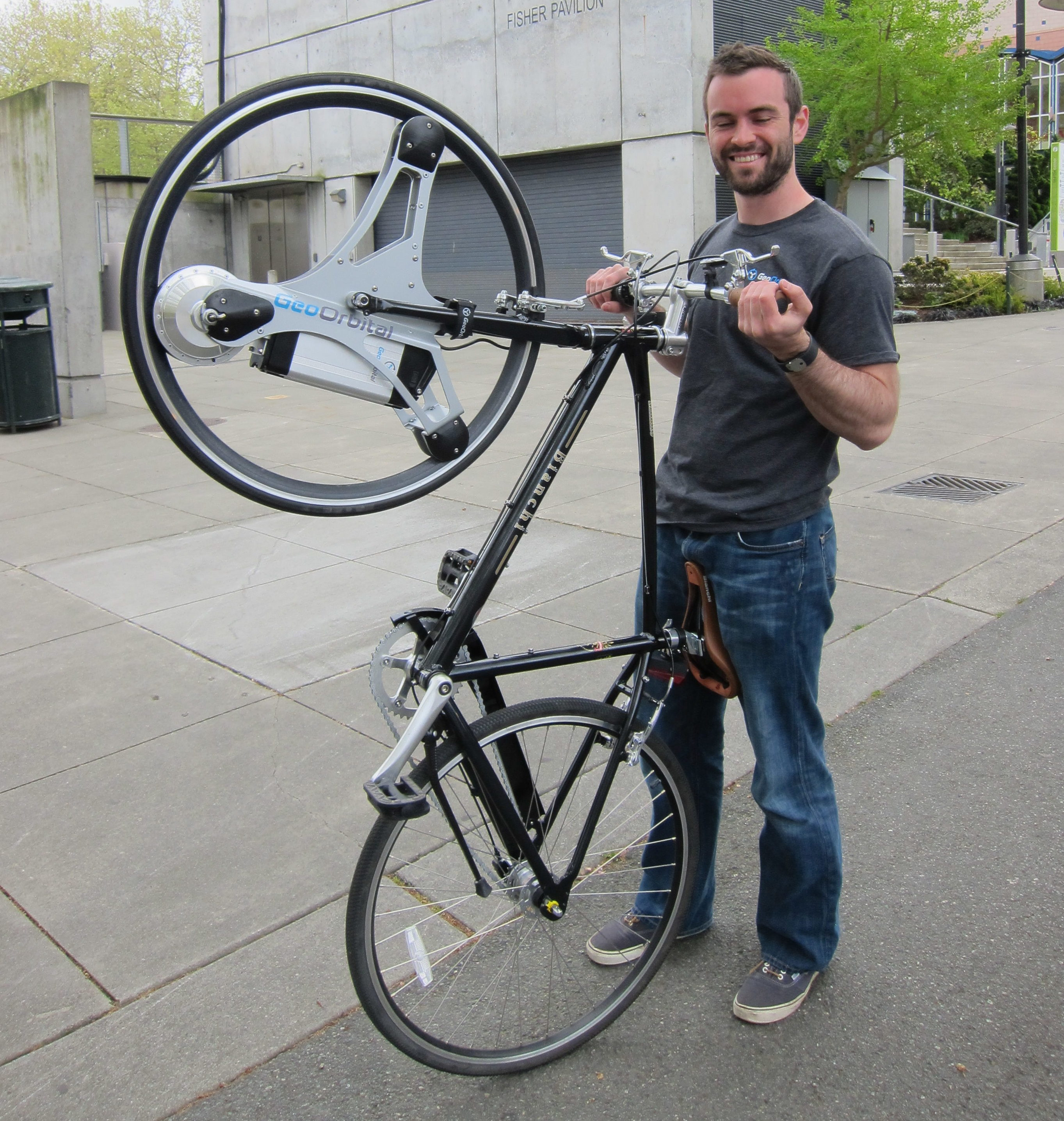 Reinventing The Electric Bike Geoorbital Goes Tron With