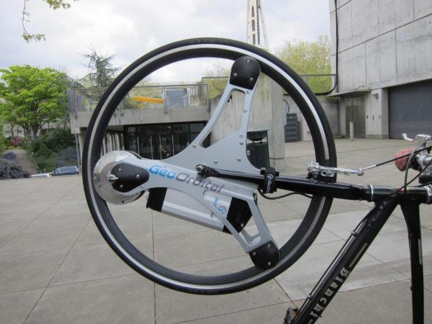 Photo By Skip Ferdeber The Geoorbital Electric Bike
