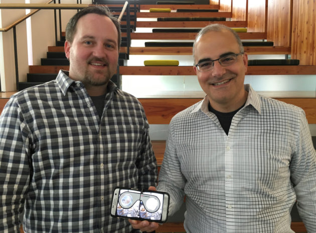 Visual Vocal co-founders Sean House, CTO, and John SanGiovanni, CEO,