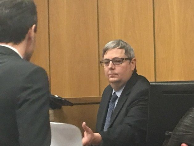 Curt Beardsley of Zillow at a past court hearing.