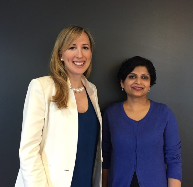 Integris co-founders CEO Kristina Bergman and CTO Uma Raghavan (Frank Martinez, co-founder and chief product officer, not pictured). Photo via Integris.