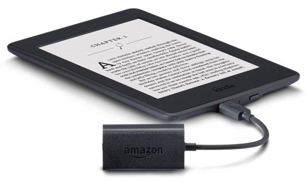 The new Kindle Audio Adapter. Image via Amazon.