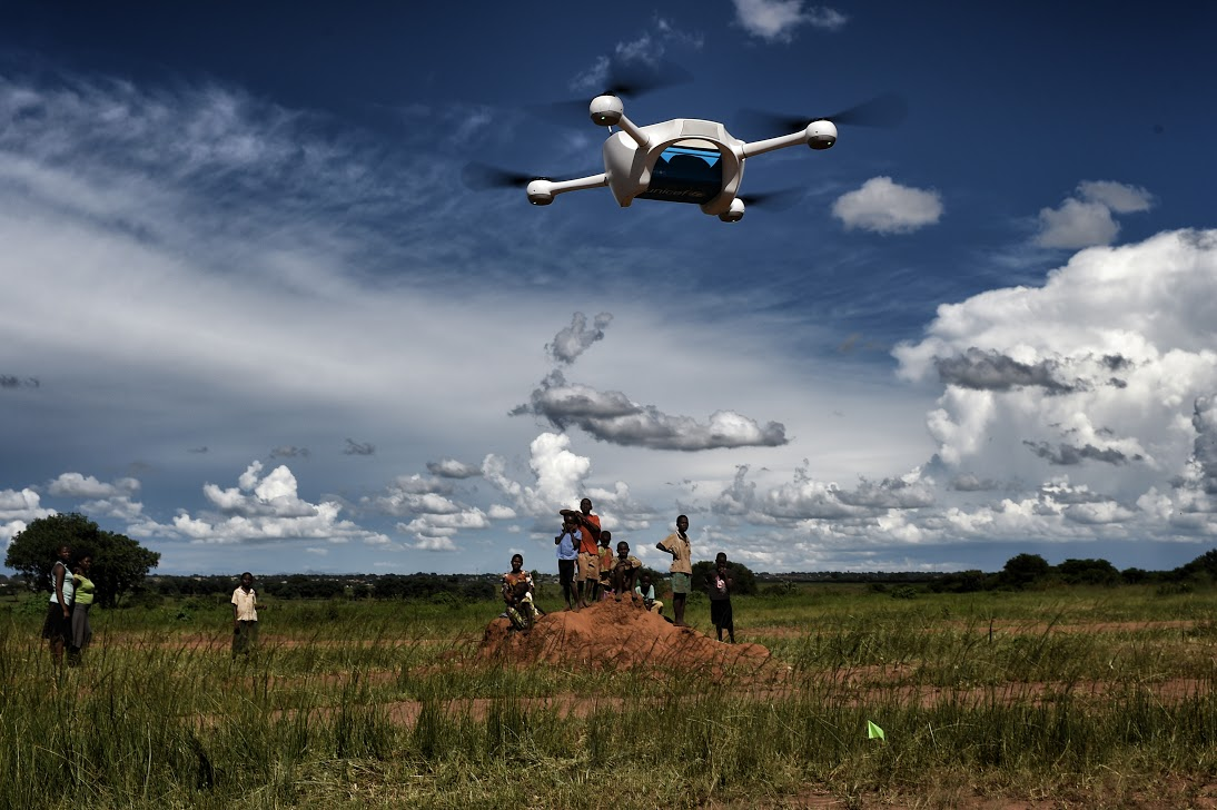 Intel Science Fair >> How drones could transform healthcare delivery and save ...