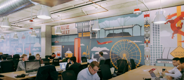 WeWork's space in South Lake Union. Photo: WeWork