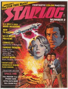 Starlog Space 1999 Cover