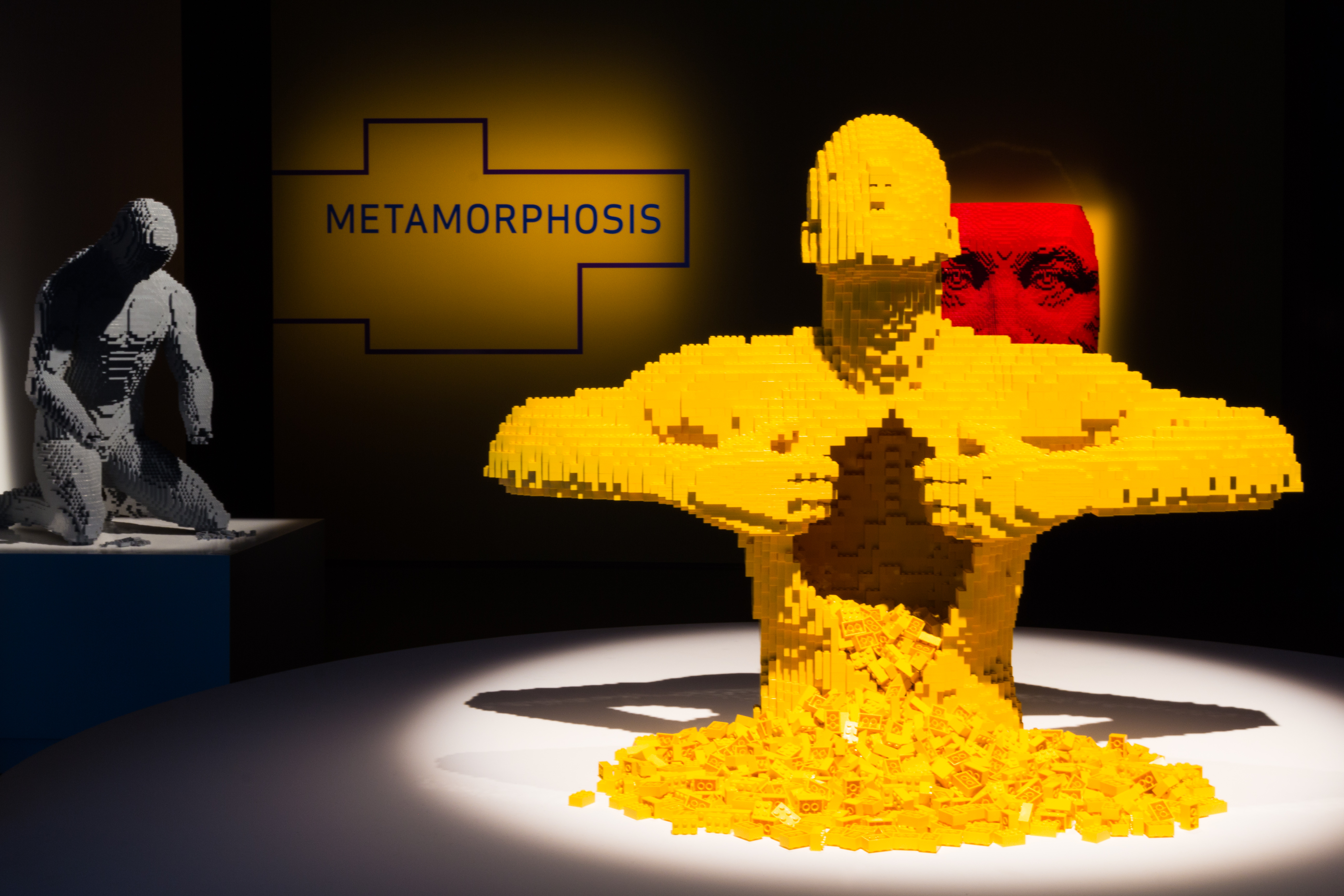 Block Out Some Time The Art Of The Brick Lego Exhibit