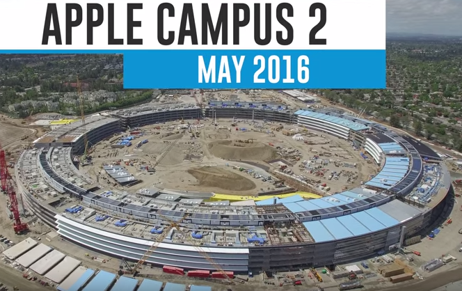 Latest Pictures Of Apple S Spaceship Building