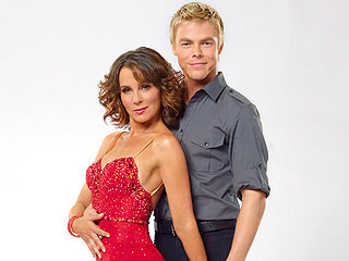 Gregg's wife Jennifer Grey on Dancing with the Stars.