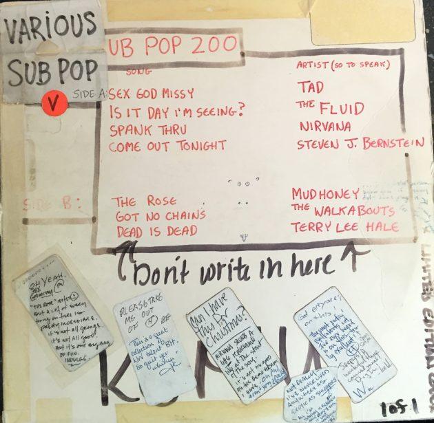 KEXP Sub Pop mix