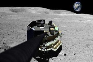 Moon Express selfie
