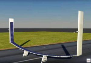 Boeing solar plane