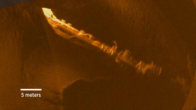 Andrea Doria sonar