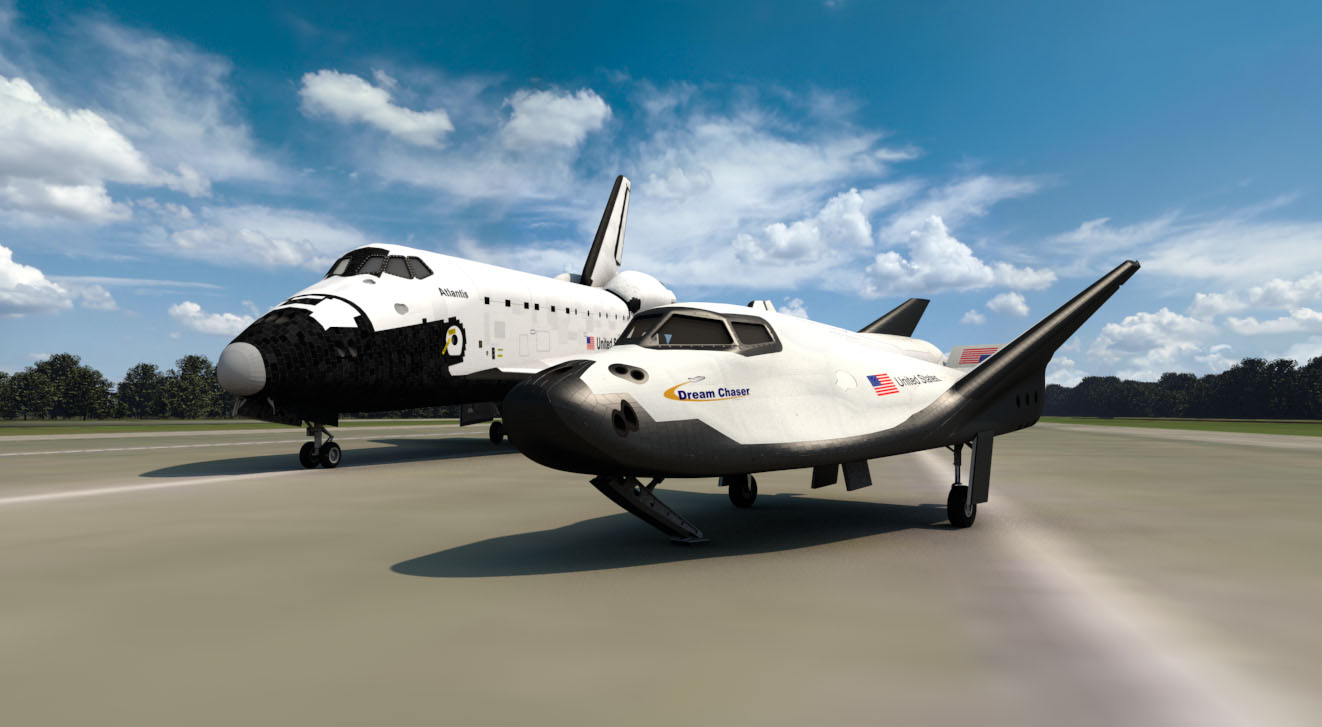 Dream Catcher Airplane SNC moves ahead on Dream Chaser spaceship GeekWire 17