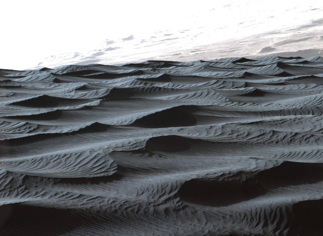 Weird sand ripples on Mars tell tales about Red Planet's past and present climate