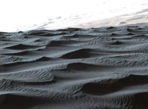 Sand structure on Mars