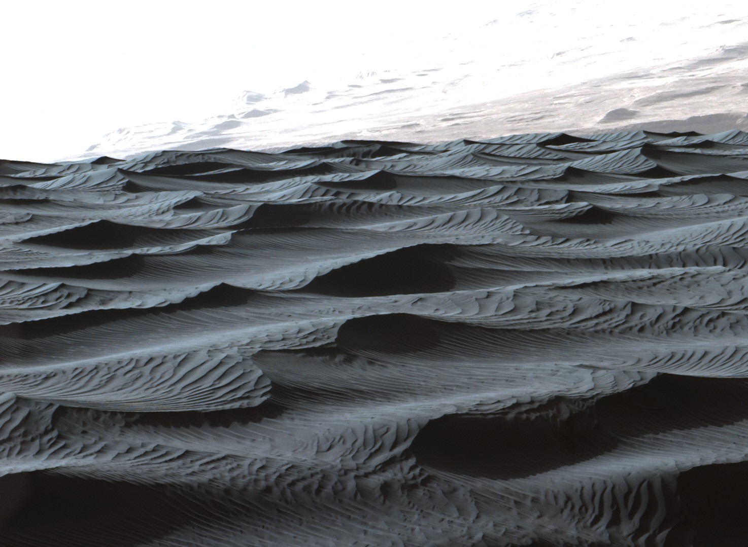 Sand ripples tell tales about Mars' past and present