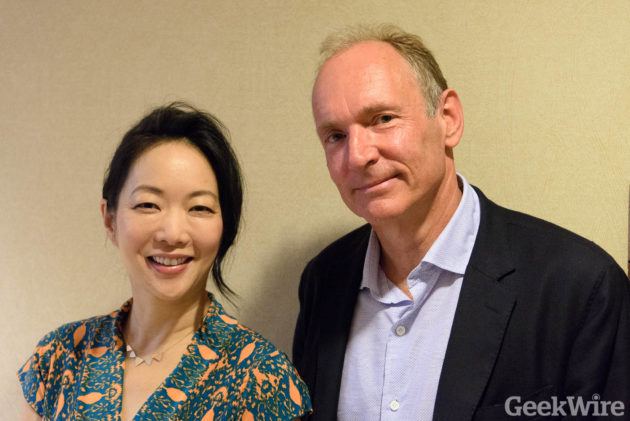 Jessica Yu & Tim Berners-Lee