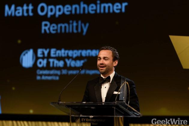 Matt Oppenheimer - EY Entrepreneur of the Year Awards