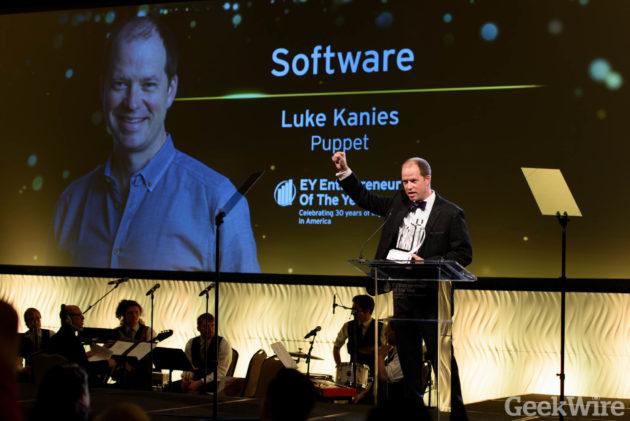 Luke Kanies - EY Entrepreneur of the Year Awards