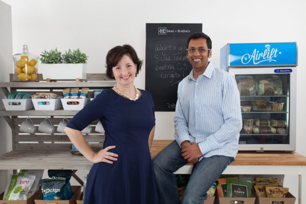 Airlift co-founders Minda Brusse and Sandeep Phadke