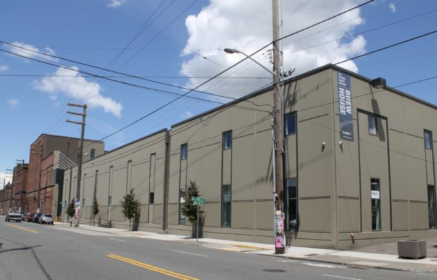 Magic Leap is building an office in this warehouse along Airport Way South in Georgetown. Geekwire Photo / Nat Levy