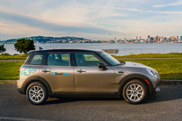 ReachNow added 150 MINI Cooper Countryman vehicles in Seattle. Photo via BMW.