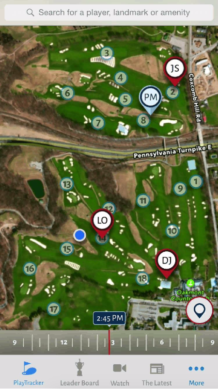 IBM powers new predictive and beacon technology for golf fans at the
