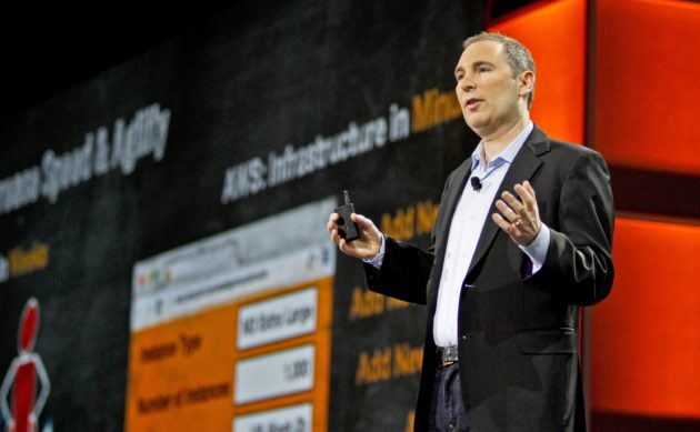 Amazon Web Services CEO Andy Jassy, June 2016 (Amazon photo)