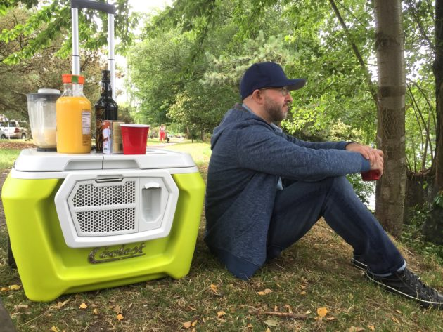 coolest cooler finally arrives blends plays music breaks and