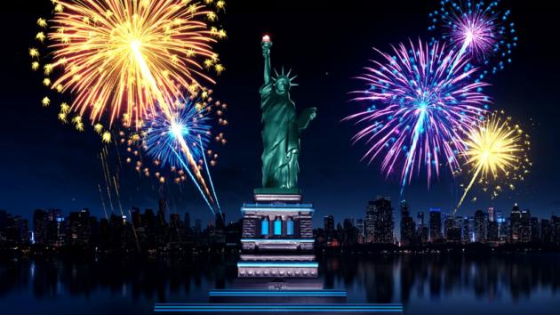 Fireworks Lady Liberty