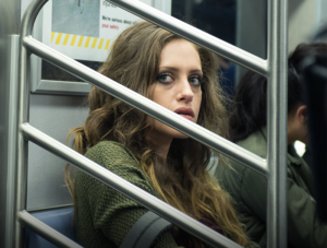 Darlene (Carly Chaikin) on Mr. Robot. (Photo via Facebook/WhoIsMrRobot).