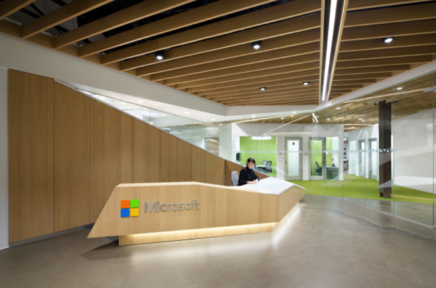 Microsoft's new Vancouver office